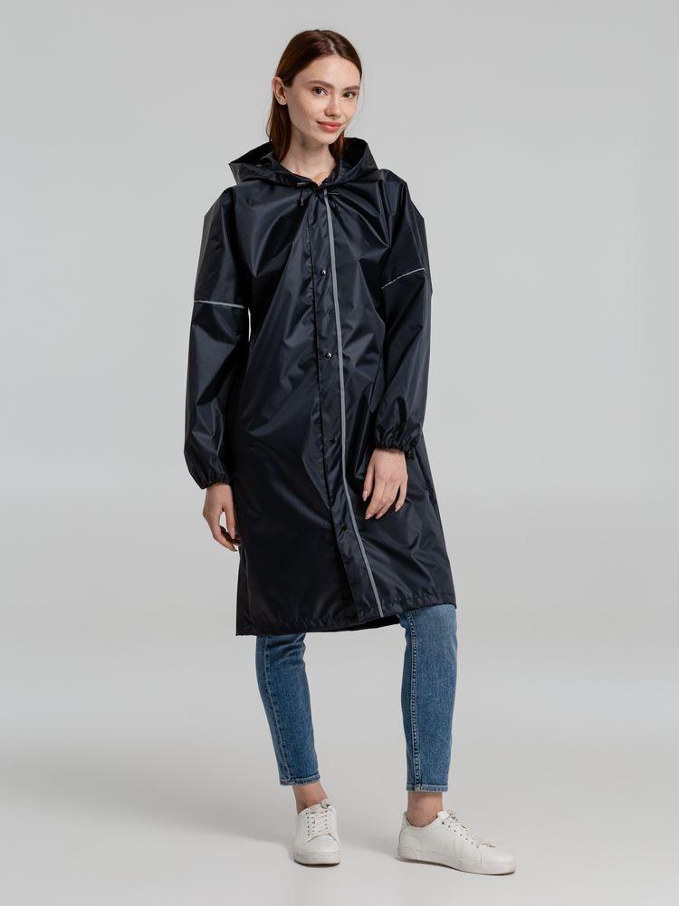 Дождевик со светоотражающими элементами Rainman Blink, темно-синий - 4