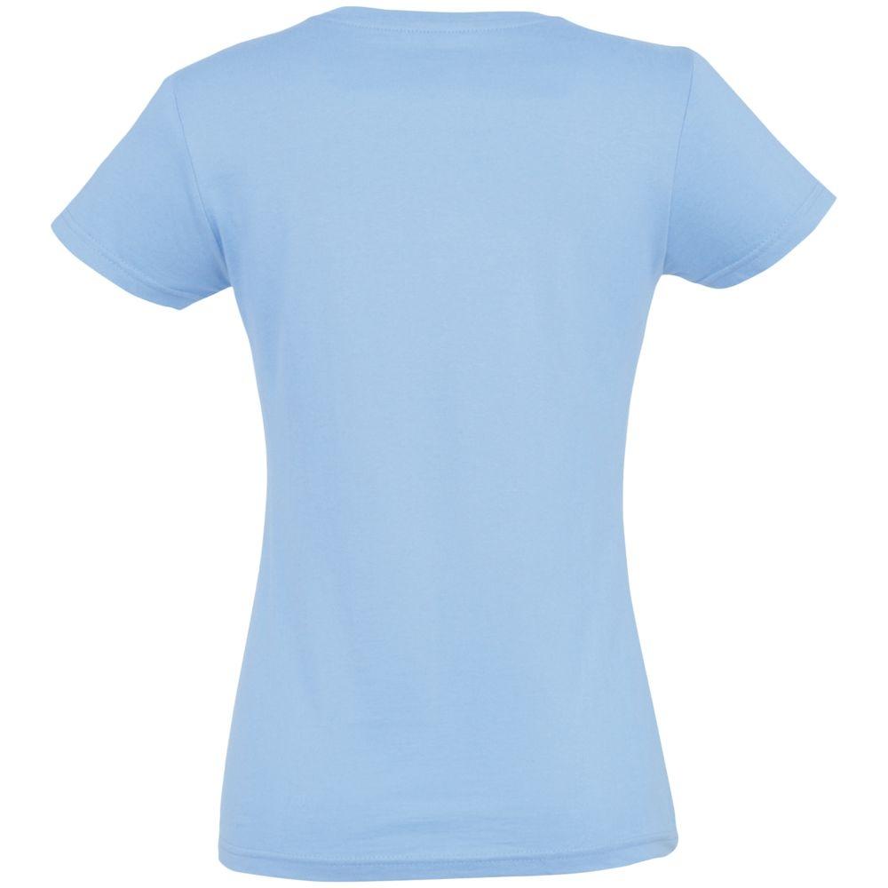 Футболка женская Imperial Women 190, голубая - 2
