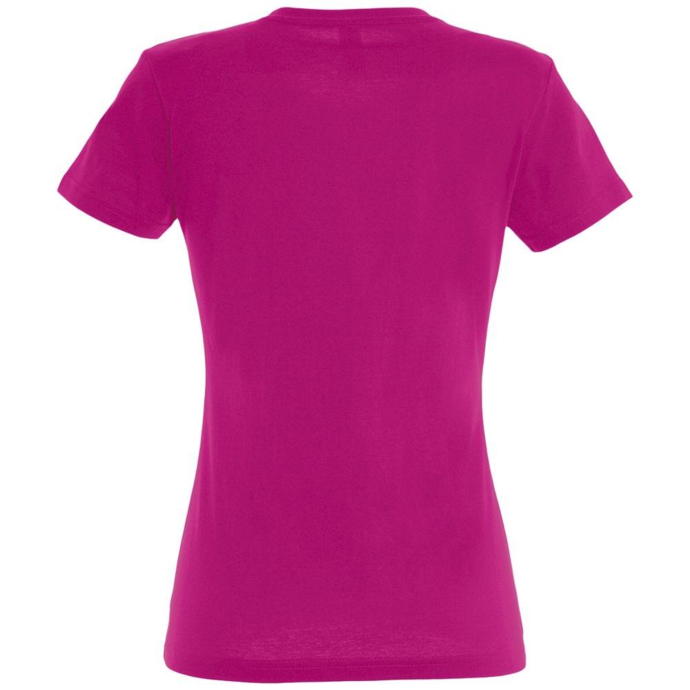 Футболка женская Imperial Women 190, ярко-розовая (фуксия) - 3