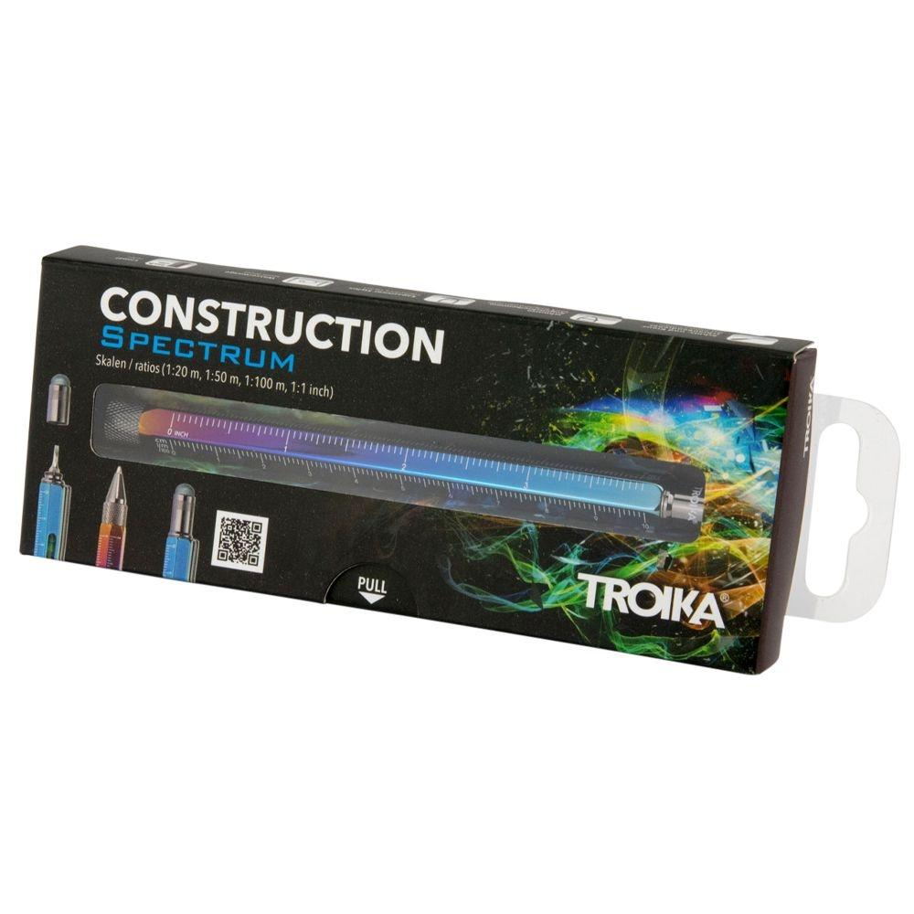 Ручка шариковая Construction Spectrum, мультиинструмент, радужная - 8