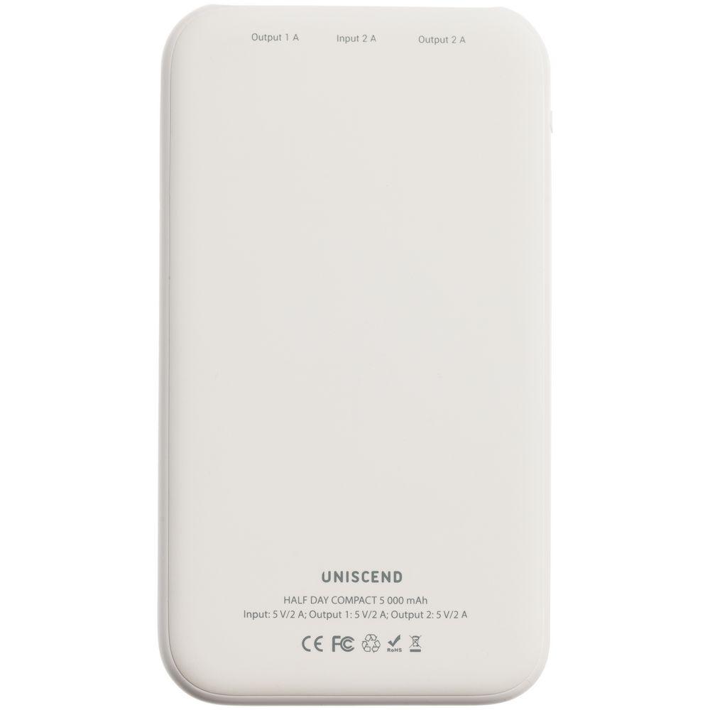 Внешний аккумулятор «Заоблачность», 5000 мAч, белый - 5
