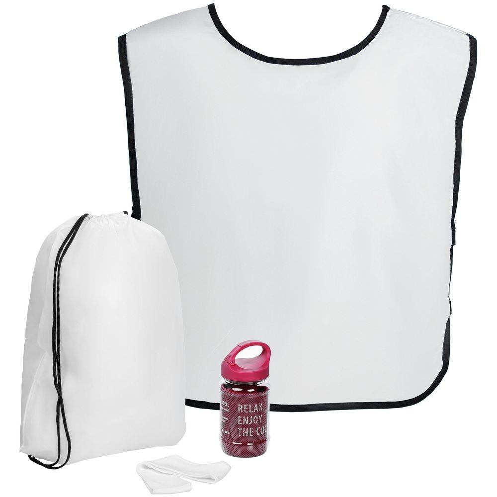 Набор для фитнеса Cool Fit, с розовым полотенцем - 1