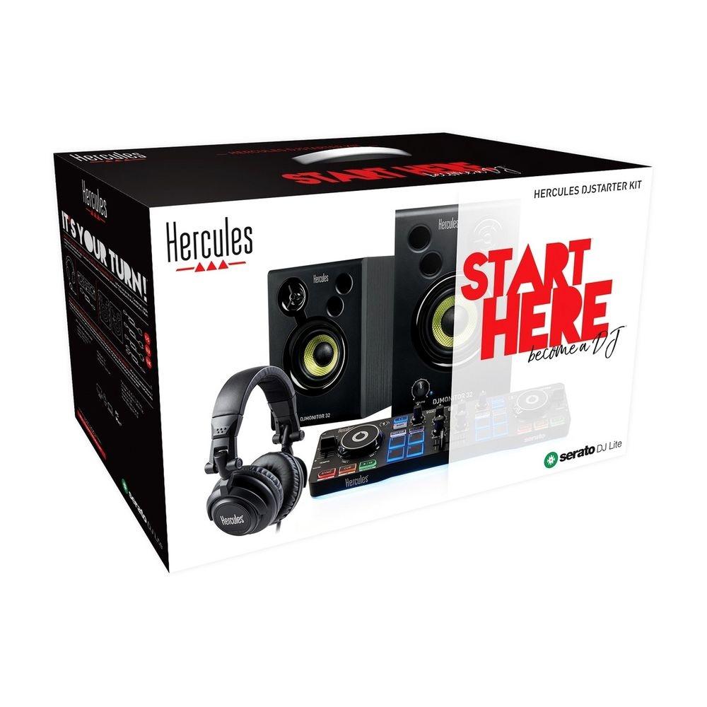 Набор начинающего диджея Hercules DJ Starter Kit - 12