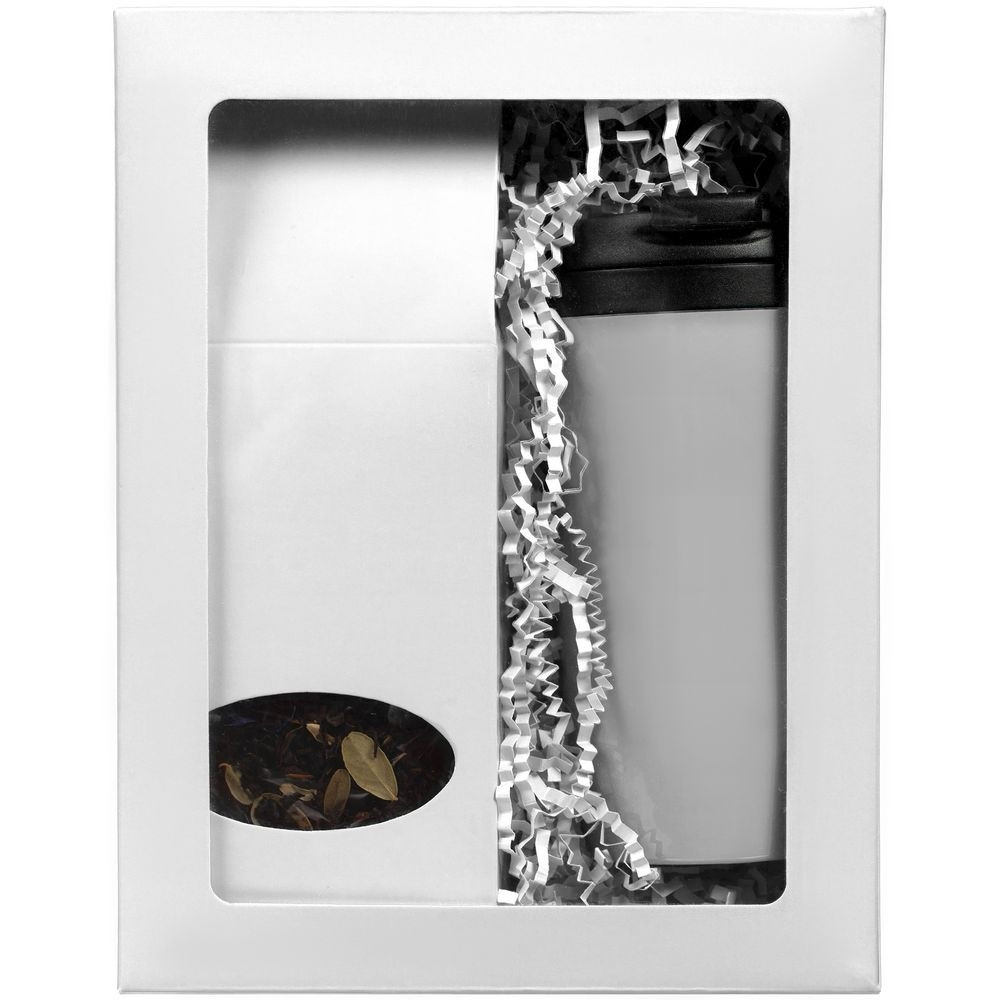 Коробка с окном InSight, белая, 21,3х16,5х7,8 см, ПВХ - 3