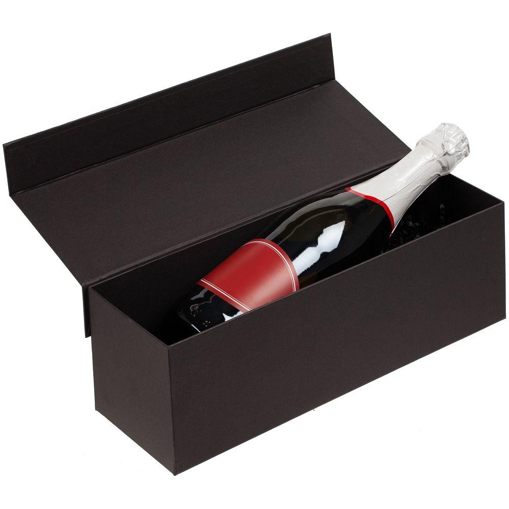 Коробка под бутылку Color Jacket, черная - 7