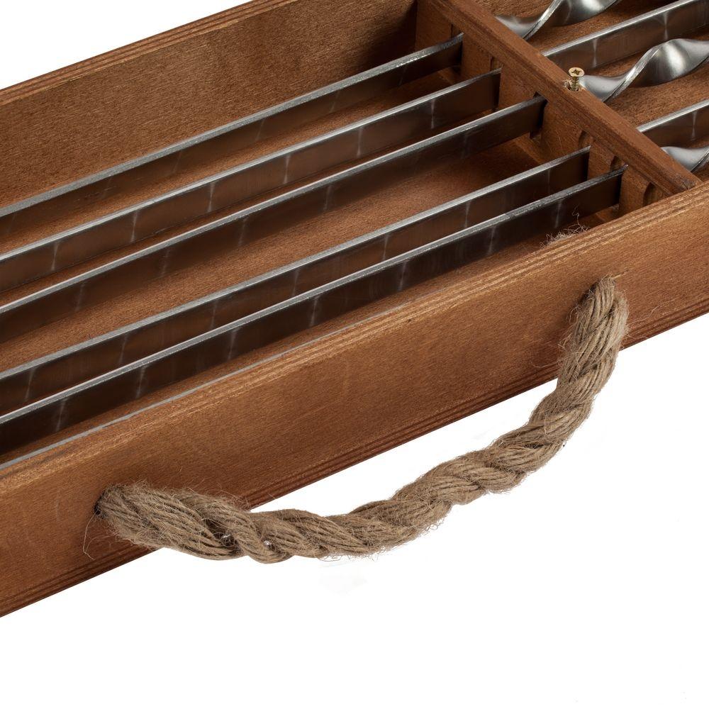 Набор шампуров в подвесном пенале Roast Coast - 7