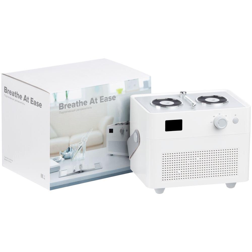 Переносной увлажнитель-ароматизатор с подсветкой Breathe at Ease, белый - 9