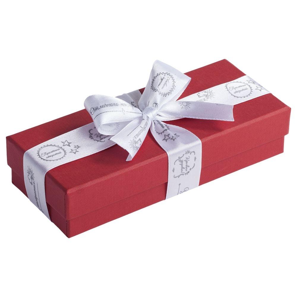 Коробка Mini, красная, 17,2х7,2х4 см, переплетный картон - 3