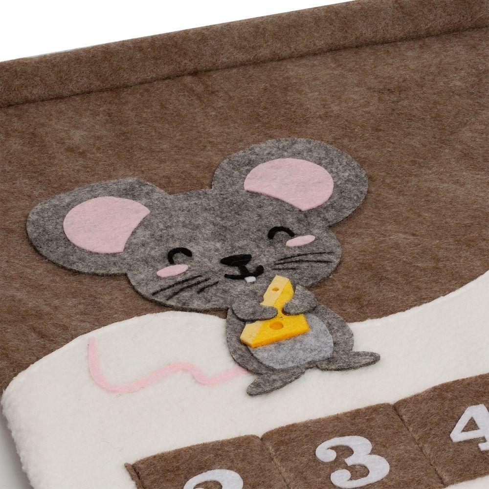 Адвент-календарь Noel, с мышкой - 3