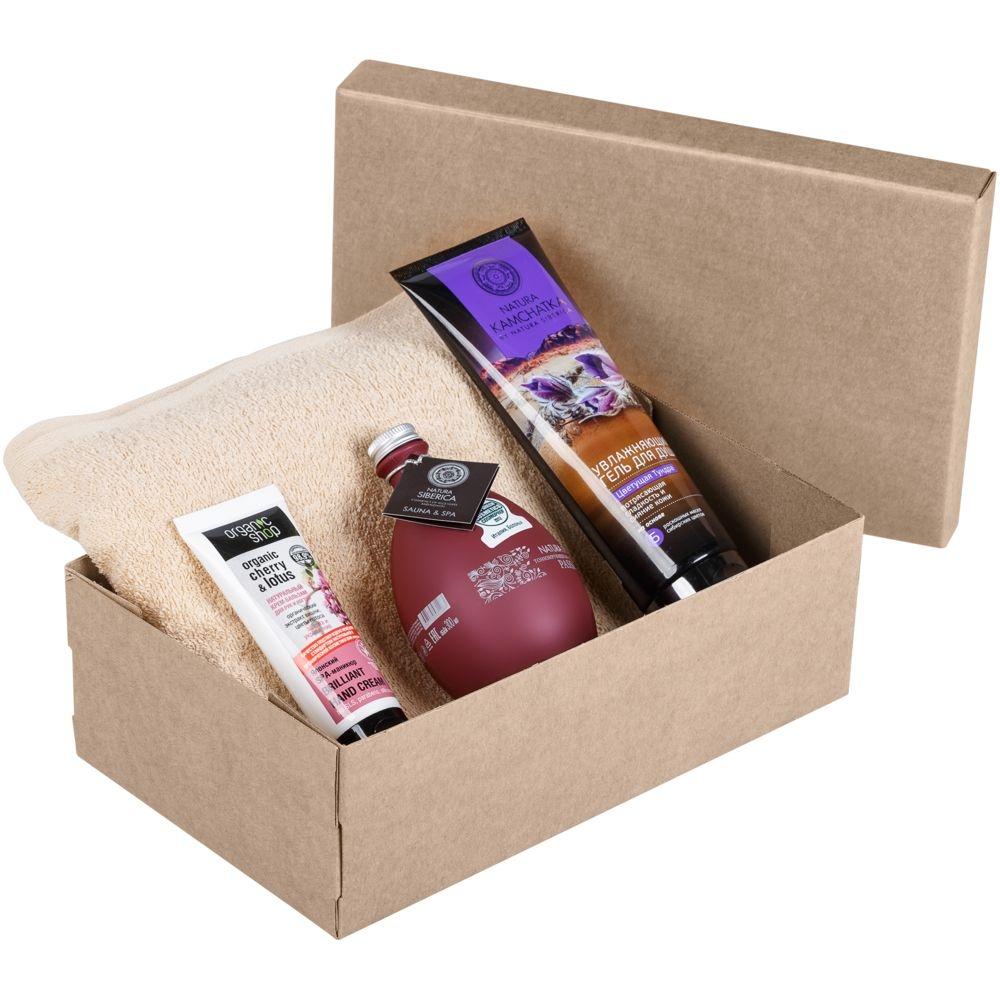 Коробка Common, M крафт, самосборная, 29х18х9,5 см, микрогофрокартон - 4
