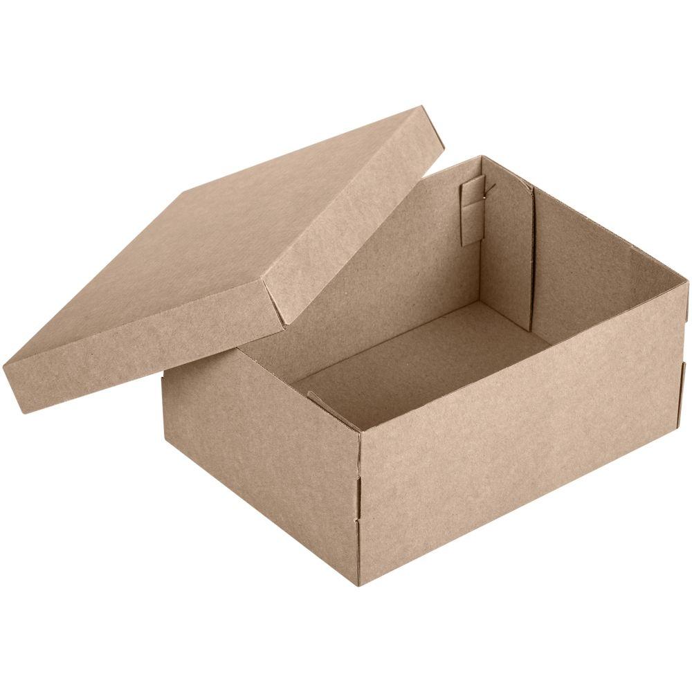 Коробка Common, S крафт, самосборная, 24х17,5х10 см, микрогофрокартон - 3