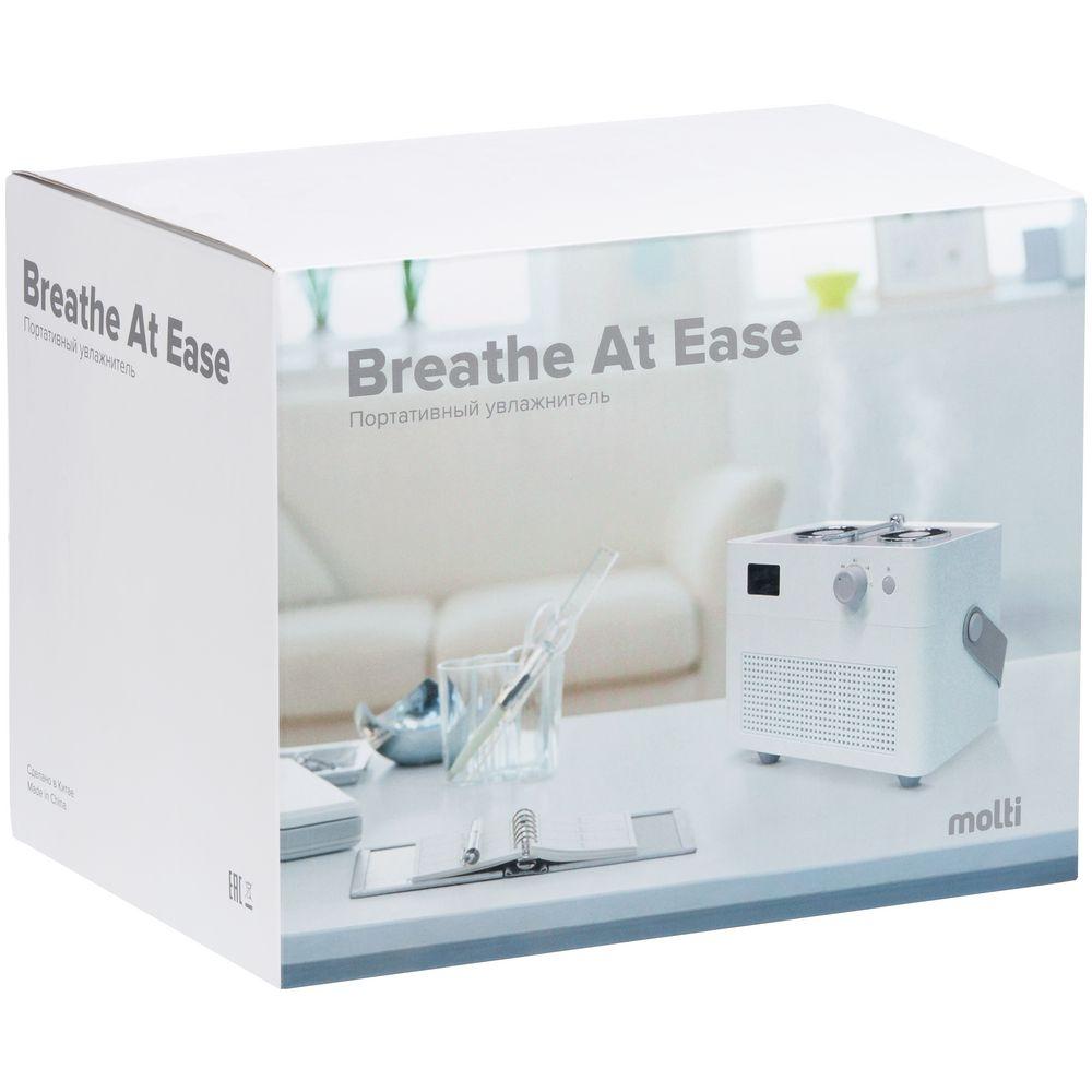 Переносной увлажнитель-ароматизатор с подсветкой Breathe at Ease, белый - 11