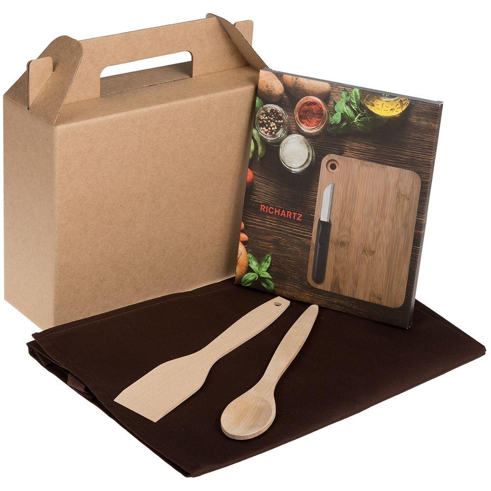 Коробка In Case M, крафт, самосборная, 26,3х27х9,2 см, микрогофрокартон - 3