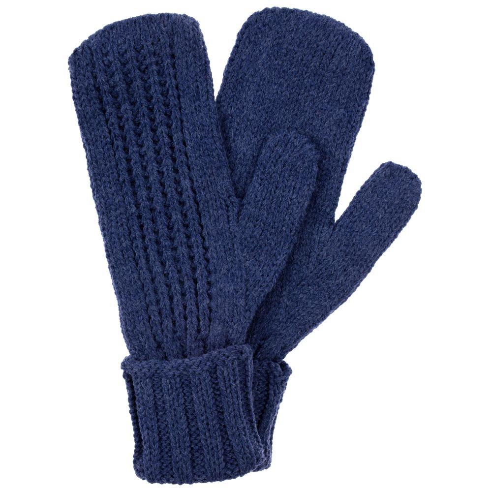 Набор Nordkyn с шарфом, синий меланж - 5
