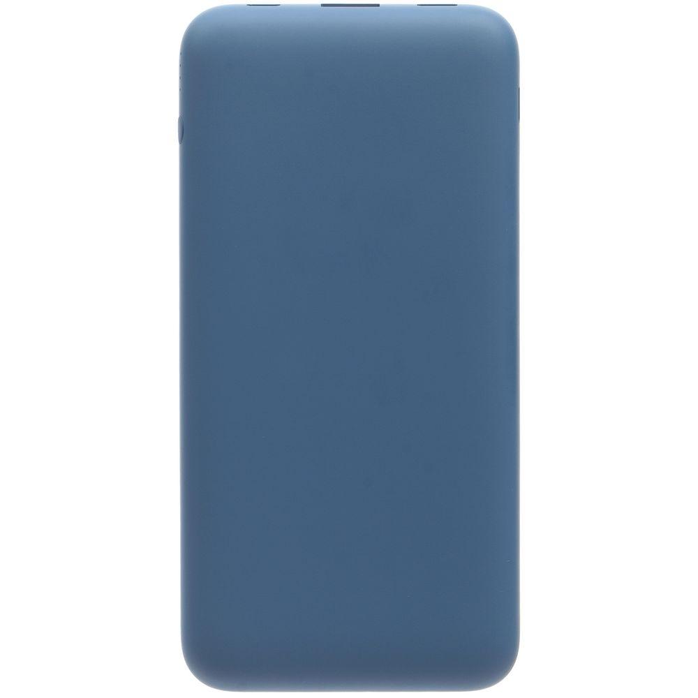 Аккумулятор с беспроводной зарядкой markBright Megapolis, 8000 мАч, синий - 1