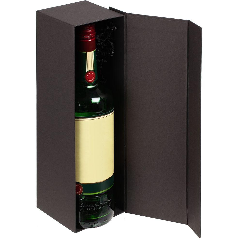 Коробка под бутылку Color Jacket, черная - 1