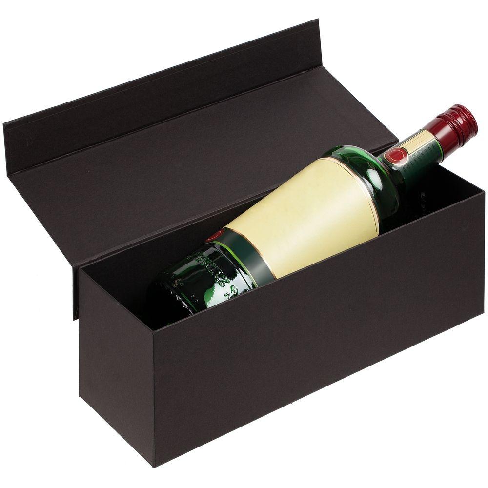 Коробка под бутылку Color Jacket, черная - 3