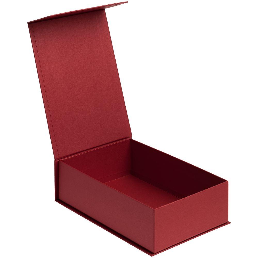 Коробка ClapTone, красная, 23х15,4х7,2 см, переплетный картон - 2
