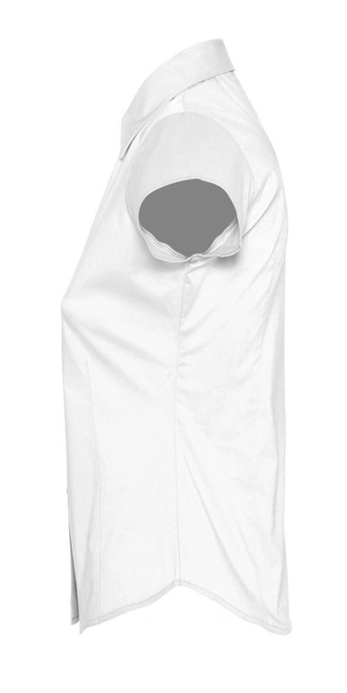 Рубашка женская с коротким рукавом Excess белая - 1