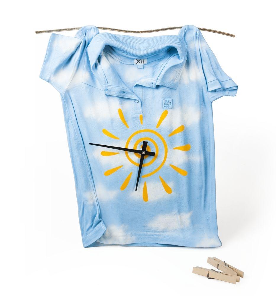 Часы «Рубашка», небесно-голубые - 3