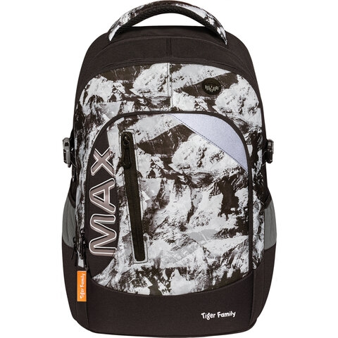 """Рюкзак TIGER FAMILY молодежный, MAX, с ортопедической спинкой, """"Mountain"""", 43х33х23 см, 270224 - 1"""