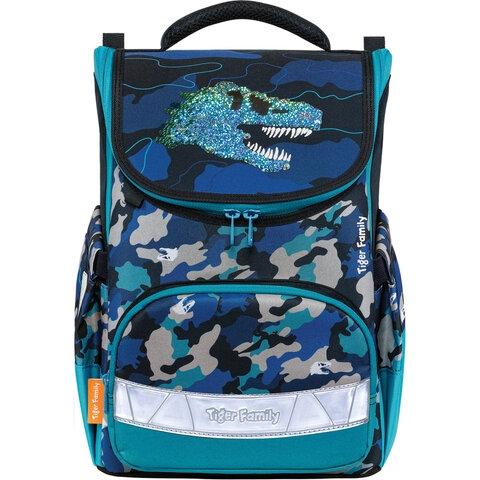 """Ранец TIGER FAMILY для начальной школы, Earnest, """"Dino Expedition"""", 39х31х23 см, 270209 - 1"""