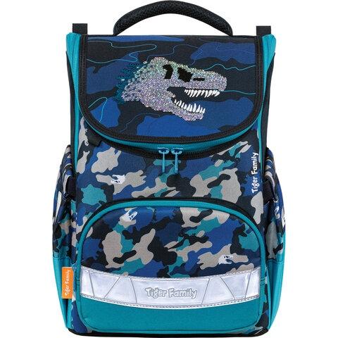"""Ранец TIGER FAMILY для начальной школы, Earnest, """"Dino Expedition"""", 39х31х23 см, 270209 - 2"""