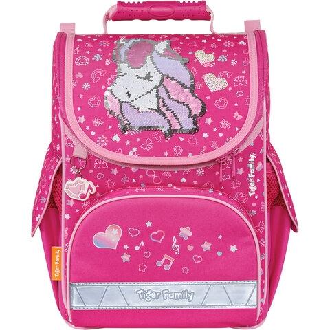 """Ранец TIGER FAMILY для начальной школы, Nature Quest, """"Musical Pony"""" (Pink), 35х31х19 см, 270208 - 2"""