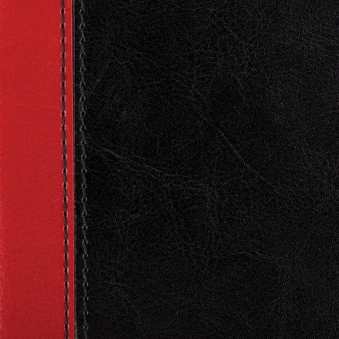 """Набор GALANT """"Президент-2"""" (ежедневник А5, планинг, телефонная книга А5, визитница на 72 визитки), комбинир. обл., красный/черный, 124034 - 12"""
