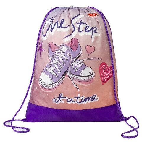 """Сумка для обуви ПИФАГОР, 1 отделение, 42х34 см, """"One step"""", 270183 - 1"""