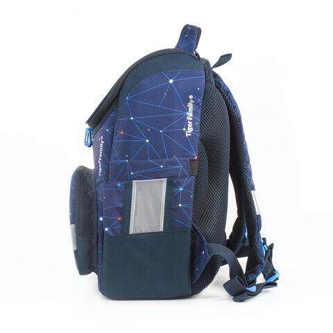 Ранец TIGER FAMILY для начальной школы, Earnest, Travel In Space, 39х31х23 см, 227868, TGET-001A - 4