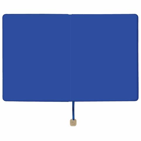 """Дневник 1-11 класс 48 л., обложка кожзам (гибкая), термотиснение, BRAUBERG """"ORIGINAL"""", голубой, 105965 - 4"""