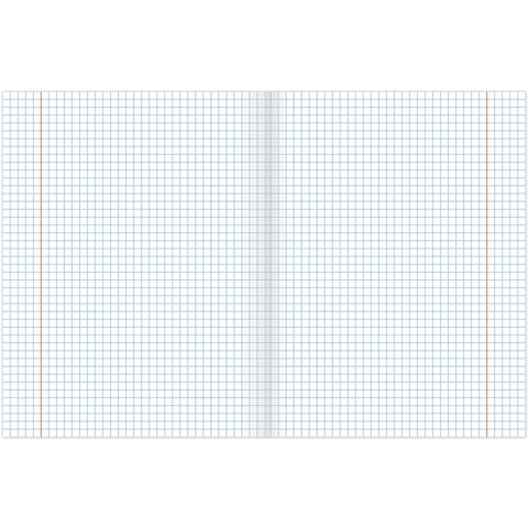 Тетрадь предметная DARK 48 листов, глянцевый лак, ГЕОМЕТРИЯ, клетка, подсказ, BRAUBERG, 403971 - 2