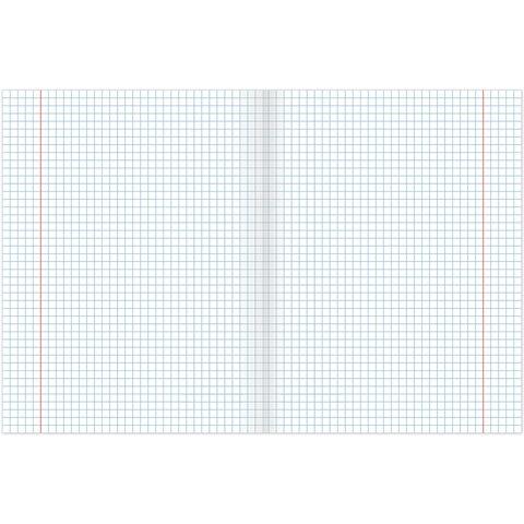 Тетрадь предметная DARK 48 листов, глянцевый лак, ГЕОГРАФИЯ, клетка, подсказ, BRAUBERG, 403970 - 2