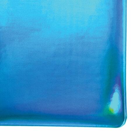 """Ежедневник датированный 2022 А5 138x213 мм BRAUBERG """"Holiday"""", """"зеркальный кожзам"""", бирюзовый, 112748 - 3"""