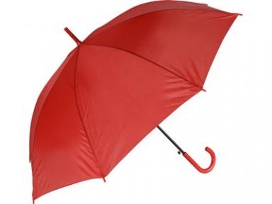 Oasis Зонт-трость Grand полуавтоматический с пластиковой ручкой красный