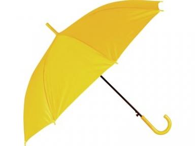Oasis Зонт-трость Grand полуавтоматический с пластиковой ручкой, желтый