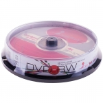 Диск DVD-RW 4.7Gb Smart Track 4x Cake Box (10шт)
