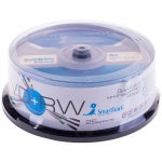 Диск DVD+RW 4.7Gb Smart Track 4x Cake Box (25шт)