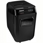 Уничтожитель документов Fellowes AutoMax 200C, автоподача, 4 ур. секр. 4x38мм, 32л, СD, автореверс