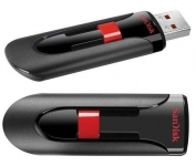 Флеш накопитель 16GB SanDisk CZ60 Glide, USB 2.0, Black