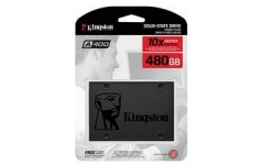 "Твердотельный диск 480GB Kingston SSDNow A400, 2.5"", SATA III, TLC [R/W - 500/450 MB/s]"