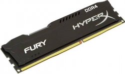 Модуль памяти Kingston 8GB 2400МГц DDR4 CL15 DIMM 1R*8 HyperX FURY Black