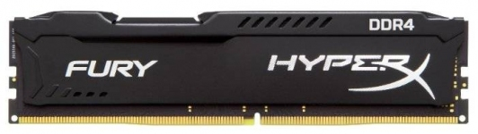 Модуль памяти Kingston 8GB 3466МГц DDR4 CL19 DIMM 1R*8 HyperX FURY Black