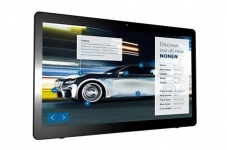 "Профессиональная панель 24"" PHILIPS 24BDL4151T/00 Black (Multi-Touch, LED, 1920x1080, 5 mc, 170°/160°, 250 cd/m, 1000:1, +HDMI, +3xUSB, +Micro USB, +RJ45, +WiFi, +WEB-Cam 2.0 mpx, +MM, +Android ОС)"