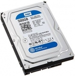 "Жесткий диск 500 GB WD Blue WD5000AZLX 3,5"", SATA3, 7200 RPM"